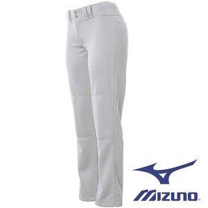 Mizuno Women's Full Length Softball Pant XL White